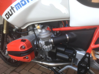 BMW R1150GS~40mm Bing carbs
