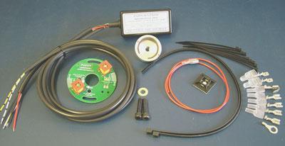 sure-fire british unit single s/points (triumph/bsa) 12 volt